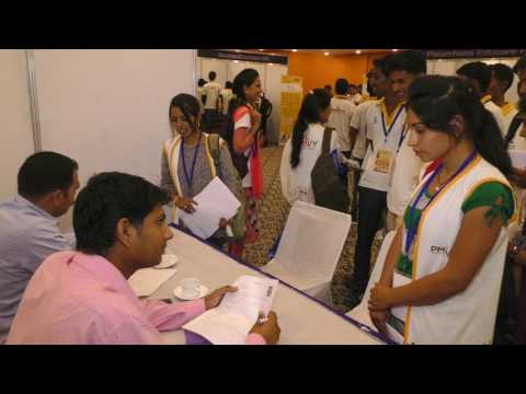 Interview Session by Reliance Retail at Job Fair on 7th May 2017