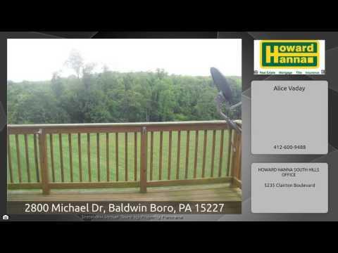 2800 Michael Dr, Baldwin Boro, PA 15227