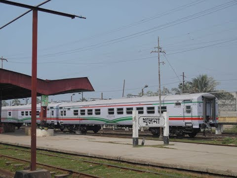 Khulna Railway Station and Launch Ghat Review