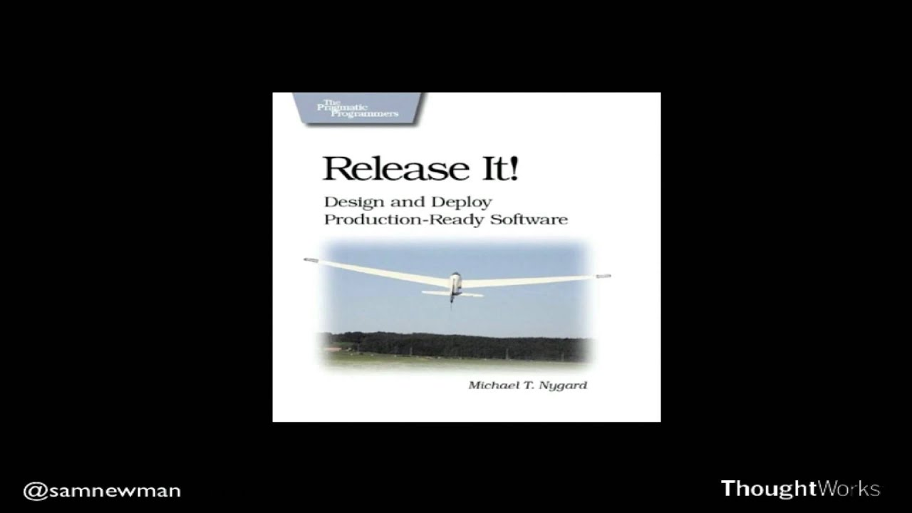 Designing for Rapid Release by Sam Newnam | ThoughtWorks Quarterly  Briefing, Perth | May 2013