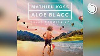 Mathieu Koss & Aloe Blacc - Never Growing Up (Laurent Schark Remix)