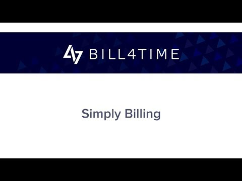 Bill4Time: Simply Billing