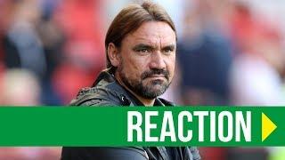 Sheffield United 2-1 Norwich City: Farke Reaction