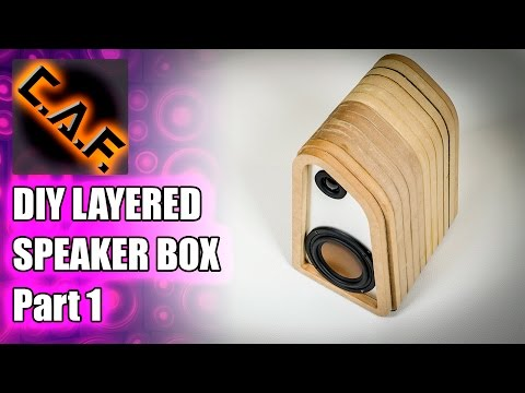 How to - Layered Speaker Box - CarAudioFabrication
