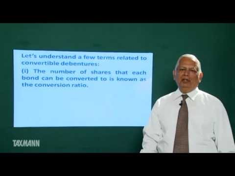 Dr. JB Gupta Video Lecture on Convertible Bonds