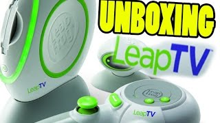Leapfrog LeapTV games console UNBOXING: Leapfrog LeapTV. Box unpacking check! | Beau's Toy Farm