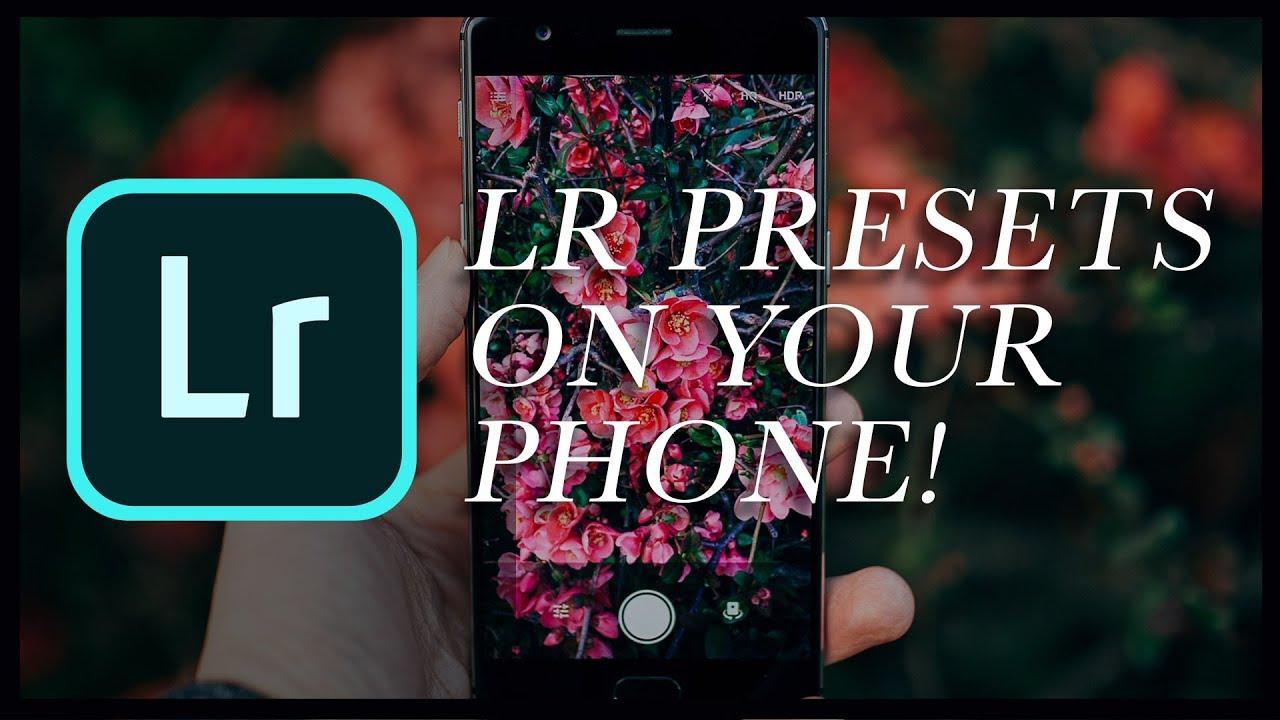 How To Get Lightroom Presets On Your Phone! (Lightroom CC Mobile 2018  Tutorial)