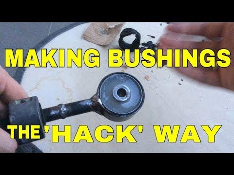 How to  make polyurethane engine mount the hack way
