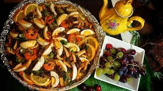 Pancit Malabon ( thin sauce)