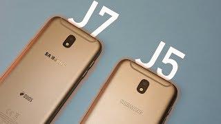 Samsung Galaxy J5 (2017) & Galaxy J7 (2017) - Review/Análise