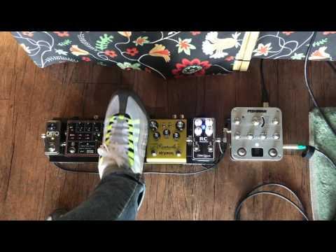 Fishman AURA Spectrum DI Fx Loop 연결,Acousticpedalboard 테스트/원미사운드
