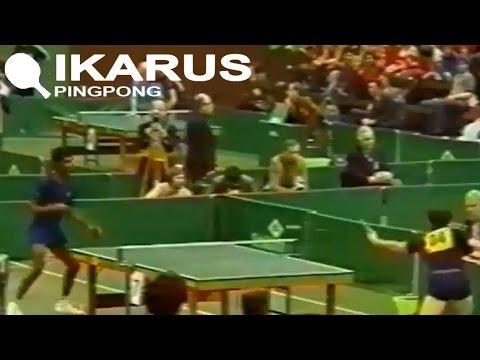Desmond Douglas - Jacques Secrétin (ETTC Duisburg 1978)