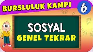 6.Sınıf Sosyal  Bursluluk Sınavı Genel Tekrar