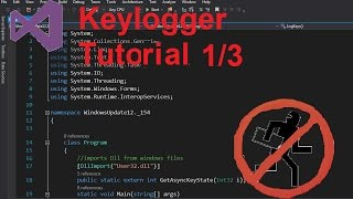 C# Remote Keylogger with email sending 1/3