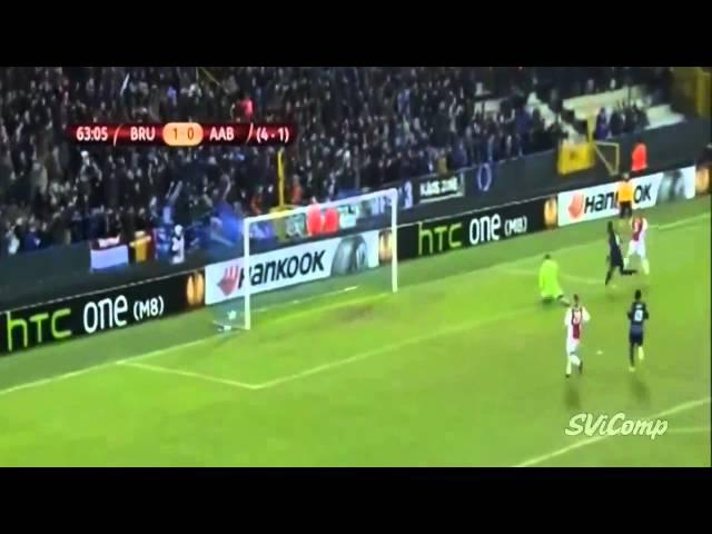 All Goals Club Brugge 3 0 Aab 26 02 2015 Europa League