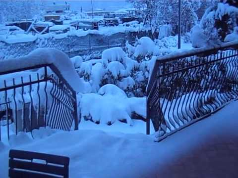 Neve a rieti 04 febbraio 2012 youtube for Camera diretta