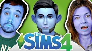 O HOMEM AZUL! - The Sims 4 (Parte 01)