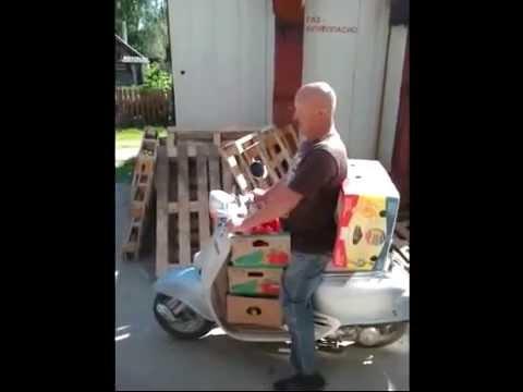 бизнес на скутере