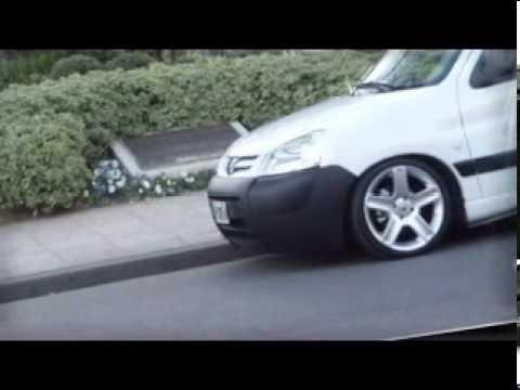 """Peugeot Partner 1.4 nafta al piso argentina 2011 llantas rc 17"""""""