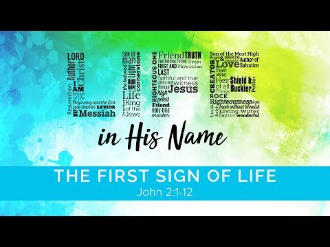 Life In His Name: The First Signs of Life