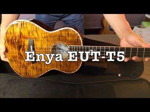 ウクレレ探訪#15|Enya EUT-T5 (Solid Tiger Maple/Tenor/Preamp)