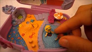 Vintage Polly pocket collection: Holiday fun and Jungle adventure!