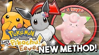 How To Shiny Hunt In Pokemon Let's Go Pikachu & Let's Go Eevee! New Shiny Hunting Method!