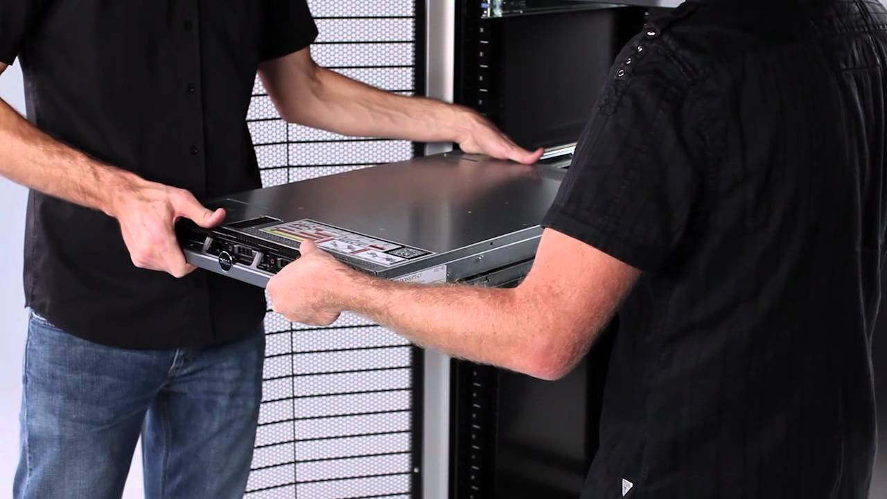 Poweredge R620 Installation In Rack Youtube