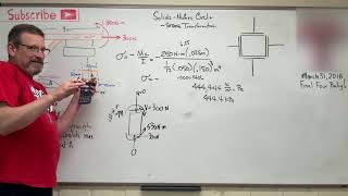 Solids: Lesson 45 - Deriving Stress Element for Mohrs Circle