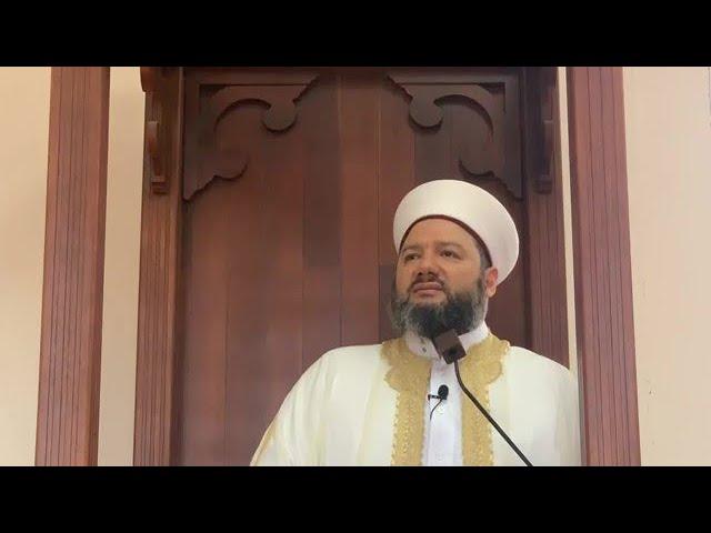 خطبة الجمعة من مسجد السلام في سدني | حسن خلق رسول الله ﷺ | 27 ربيع الأول 1442