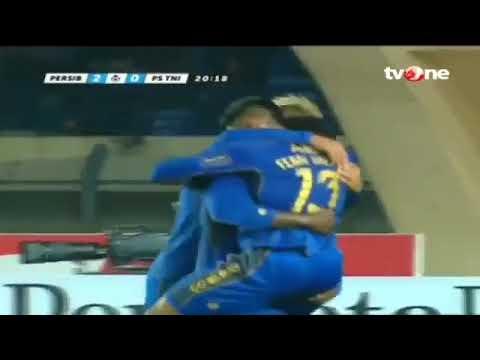 Michael Essien's goals in first season at Persib Bandung
