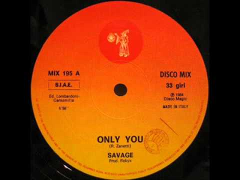 ★ SAVAGE ★ Only You ★ 12 version ★ 1984 ★