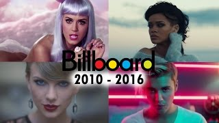 Billboard Hot 100 - No. 1 Songs (2010 - 2016)