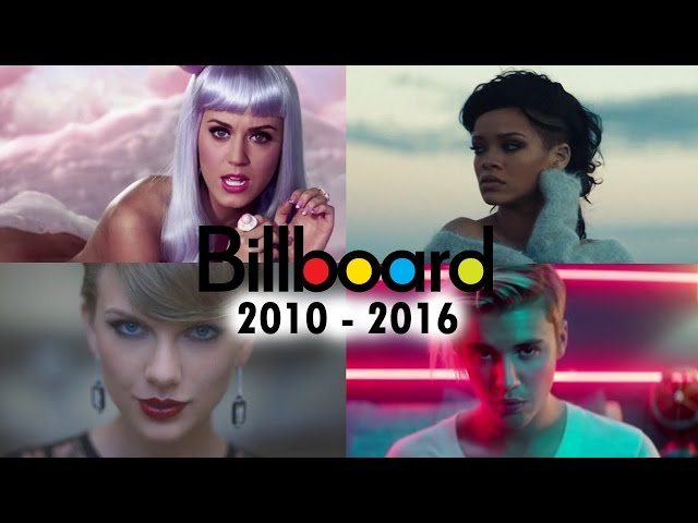 Billboard Hot 100 - No. 1 Songs (2010 - 2016)