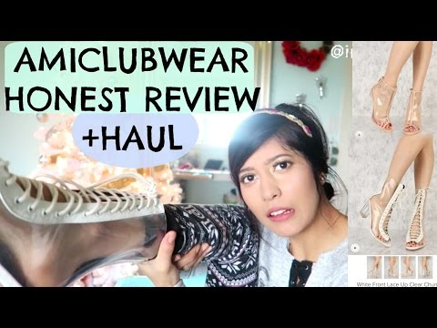 SHOULD YOU BUY FROM AMICLUBWEAR?! REVIEW+HAUL