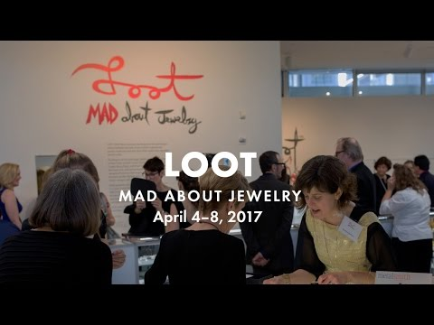 'LOOT: MAD ABOUT JEWELRY' RETURNS THIS SPRING WITH 54 ARTISTS FROM 21 COUNTRIES