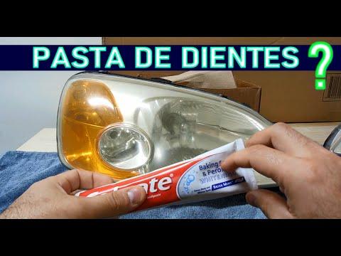 Funciona la pasta de dientes para pulir faros delanteros??