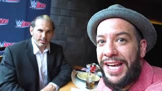 Comiendo con Matt Hardy