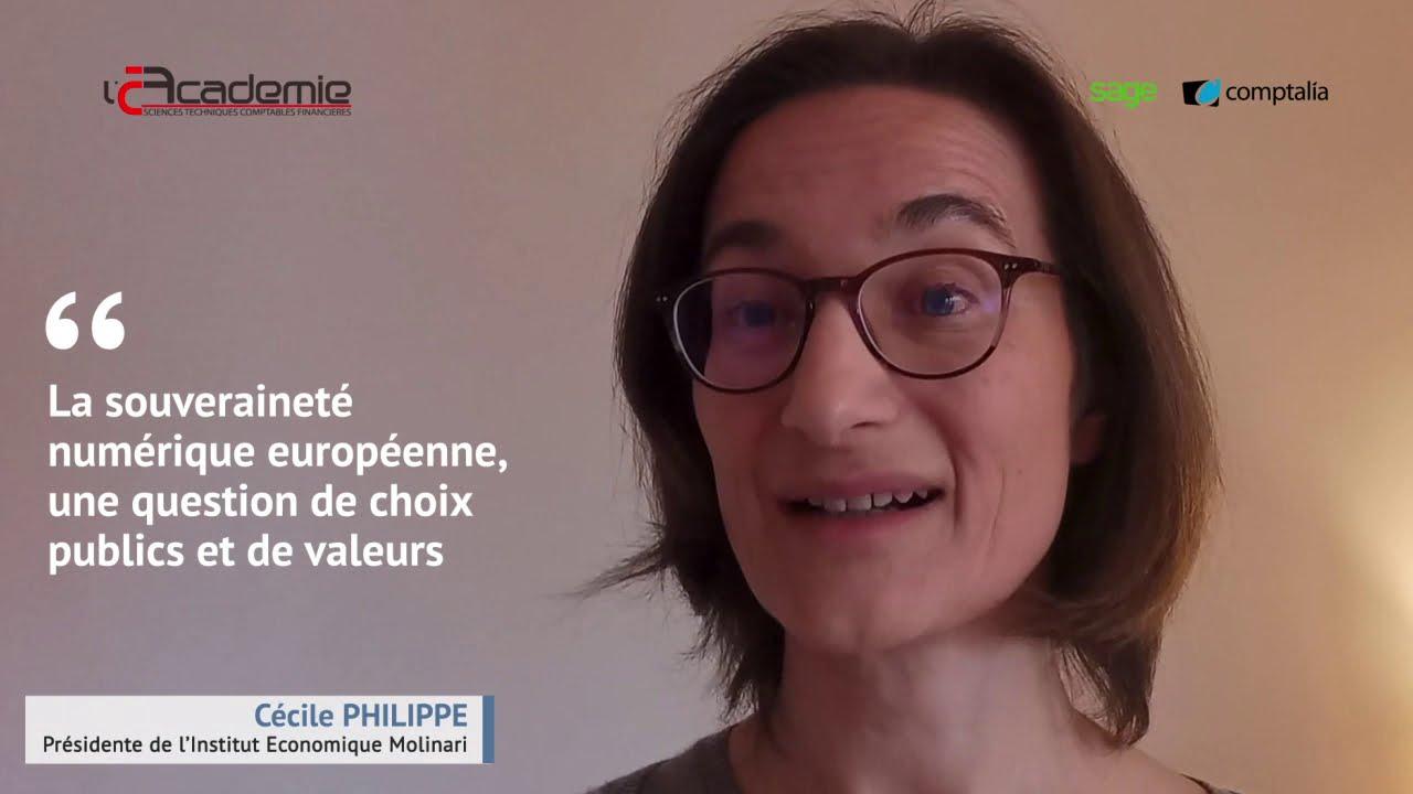 Les Entretiens de l'Académie : Cécile Philippe
