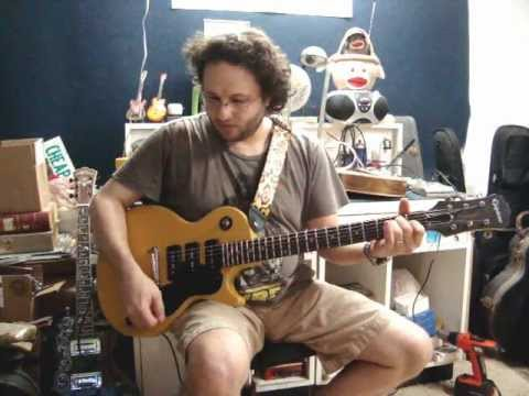 Epiphone Les Paul Special Modded w/3 P-90\'s by D Guitars Miami - YouTube