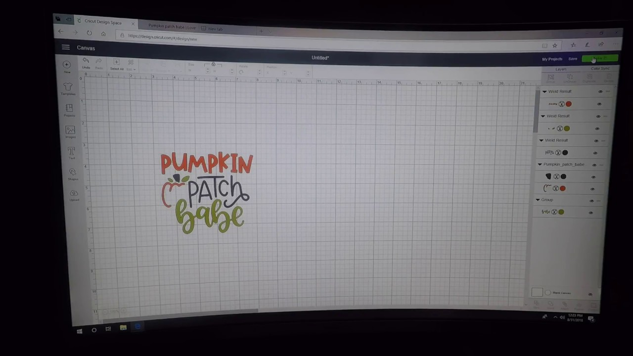 How To Download Extract And Upload And Svg Into Cricut Design