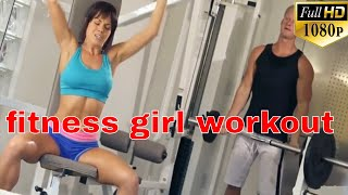 fitness workout girl || hot fitness model workout | gym instructor | hot fitness girls workout |