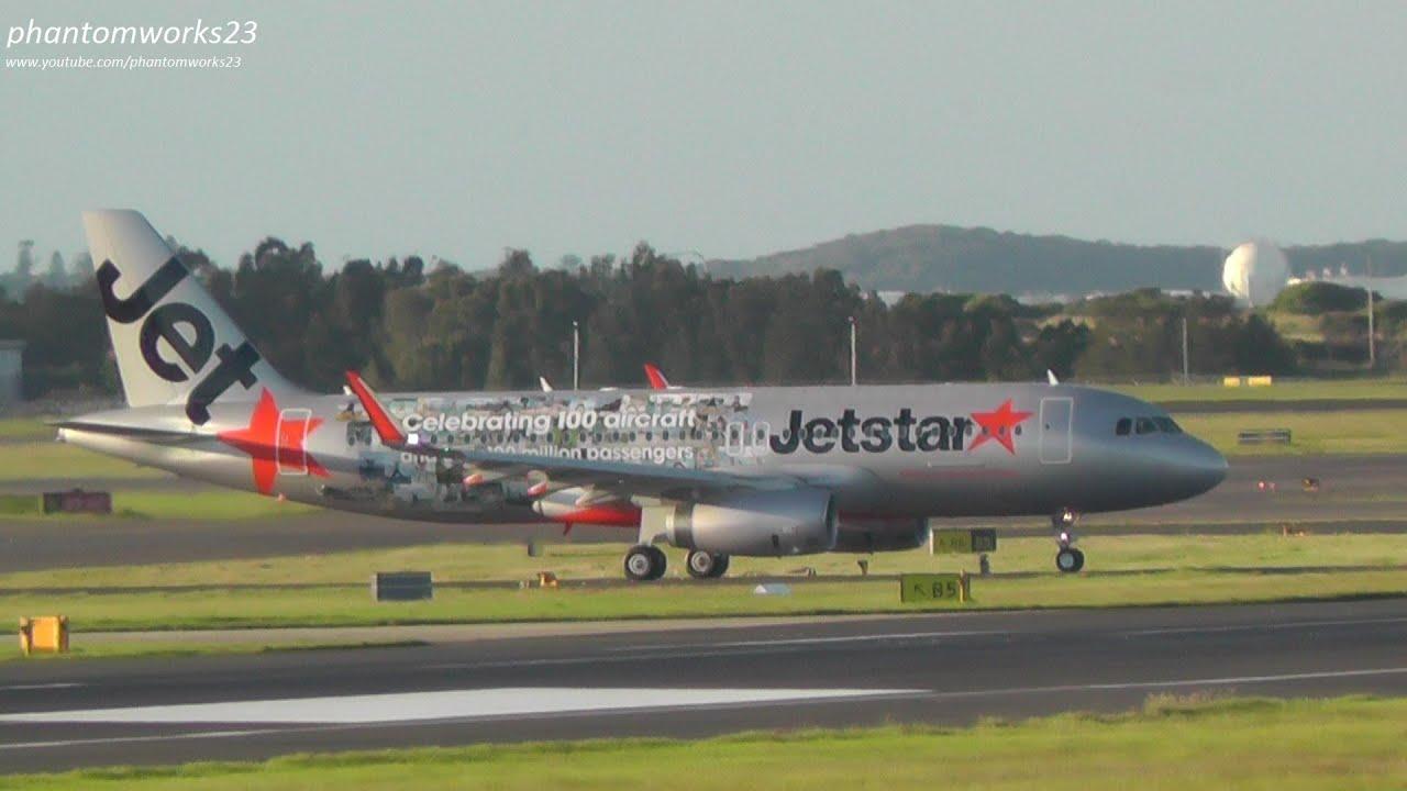 First Jetstar A320 w/Sharklets (100th aircraft special ...