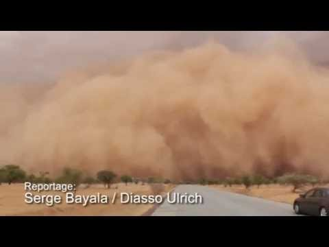 Intriguing Haboob from Squall line over Sahel