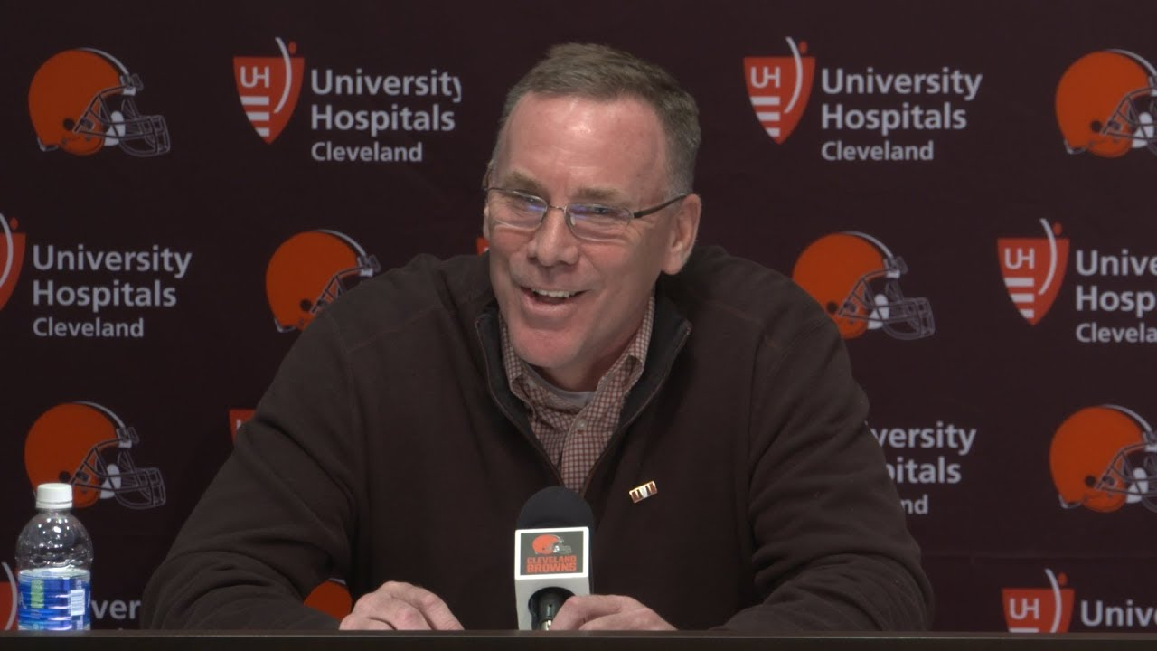General Manager John Dorsey Introductory Press Conference - 12/8