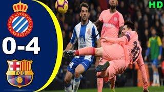 ESPANYOL 0-4 FC BARCELONA | Highlights La Liga 9 Desember 2018