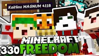 DIE TRANSFORMER SIND ZURÜCK! & KAITLINS SCHUSSWAFFE! ✪ Minecraft FREEDOM #330 DEUTSCH   Paluten