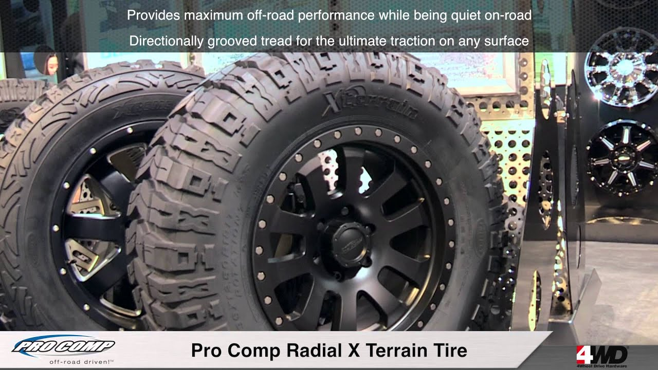 Bf Goodrich Mud Terrain Tires >> Pro Comp X Terrain Tire - YouTube