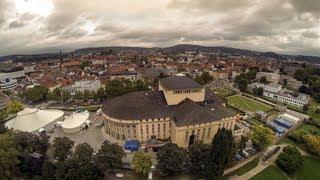 Saarbrücken von oben