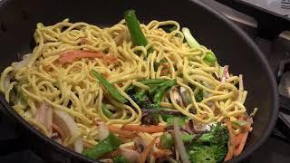 Simple and Easy Stir -Fry Vegetables/ Noodles(vegan)